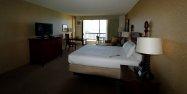 sypialnia z widokiem na morze